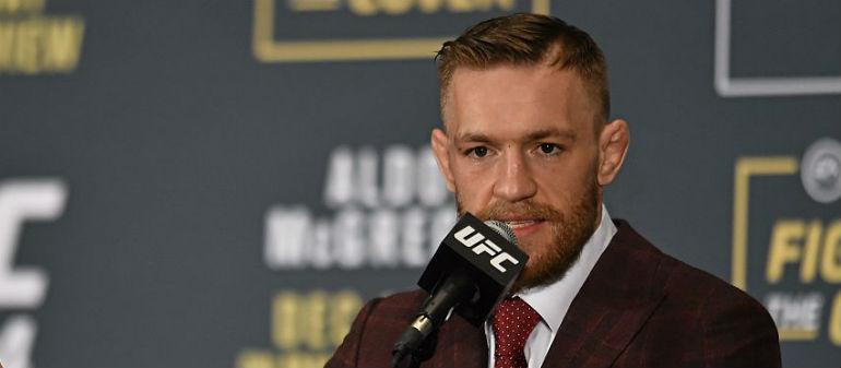 McGregor Puts Whiskey Plan On Ice