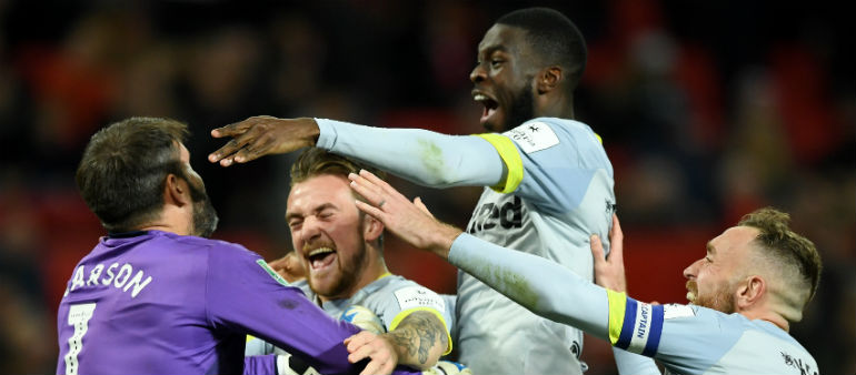 Derby Defeat United After Shootout