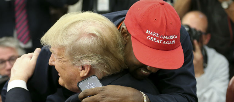 Kanye Meets His