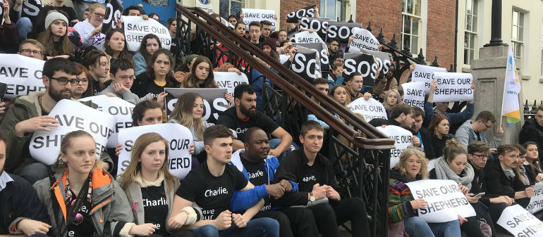 DCU students try to save classmate from deportation