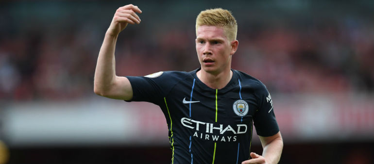 DeBruyne returns for Manchester City