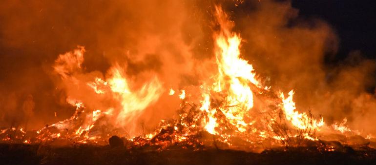Bonfire warning ahead of Halloween