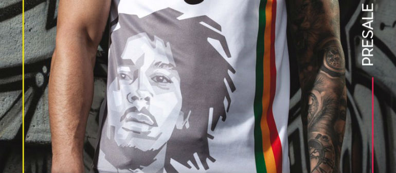 Bob Marley features on new Bohs jersey