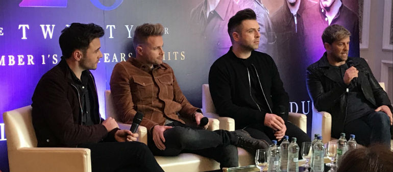 Westlife 'relieved' by sold out Croke Park gig