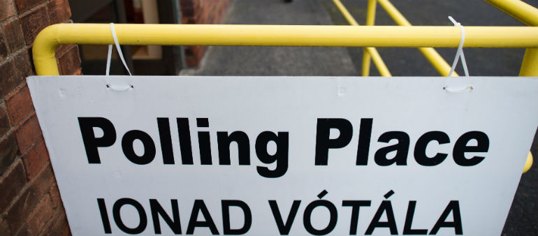 Voting slow in presidential election