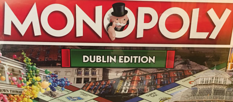 Dublin Gets The Monopoly Treatment