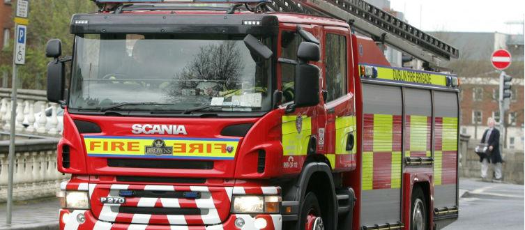 Man dies in Dublin house fire