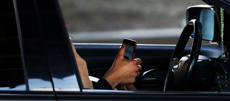 Thousands Of Motorists Caught On Phones