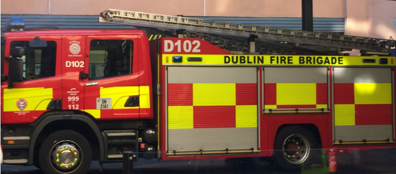Firefighters Tackle Milltown Blaze