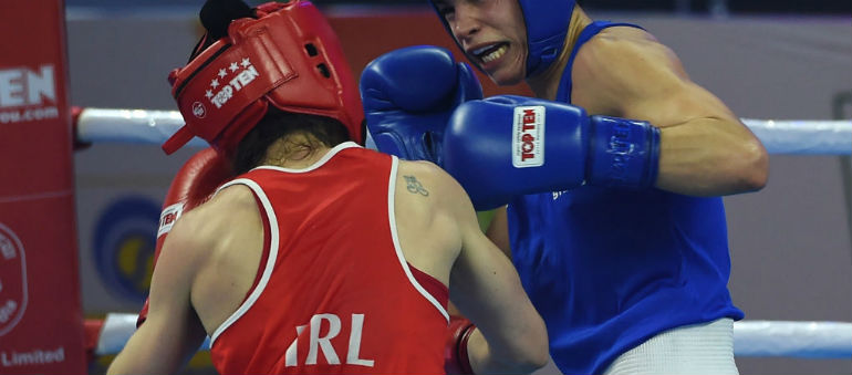 Harrington to fight for gold