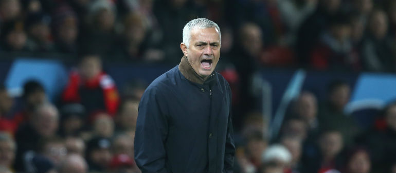 United Win As Mourinho Loses His Cool
