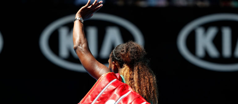 Serena Exits In Oz