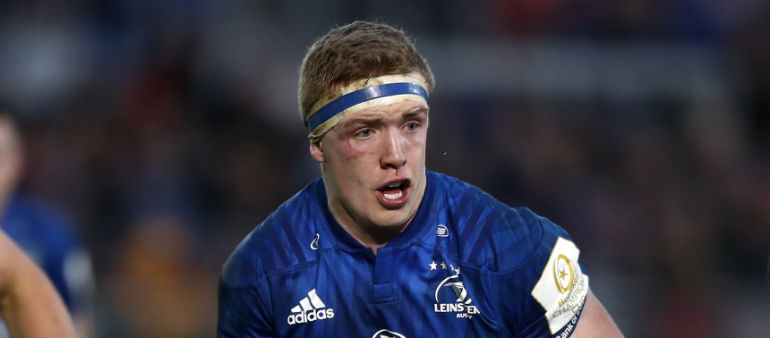 Leinster's Leavy Out Of World Cup