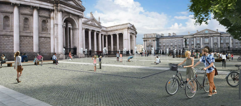 City Council to Close College Green for Plaza Trials