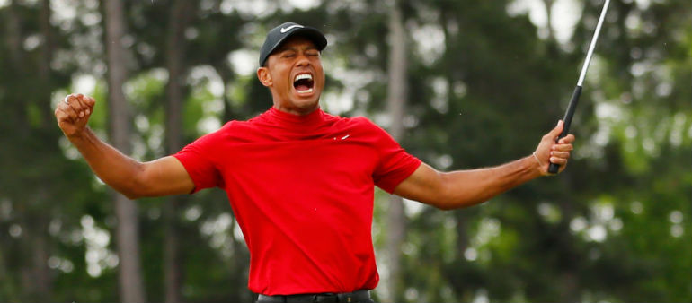 Majestic display sees Tiger win at Augusta