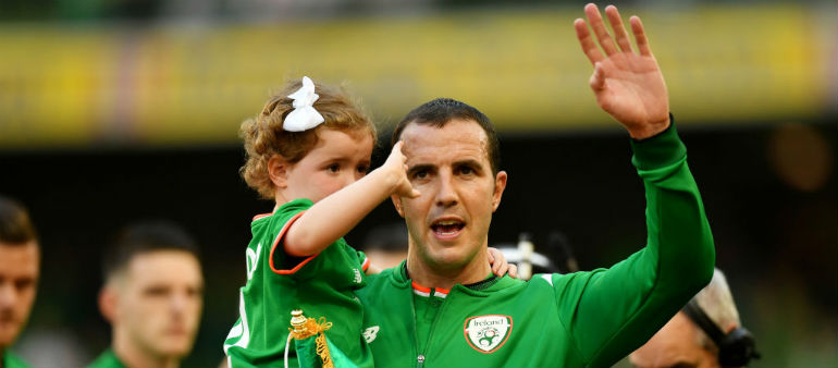 O'Shea calls time on his career