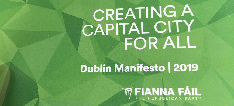 Promise to build 60,000 homes for Dublin
