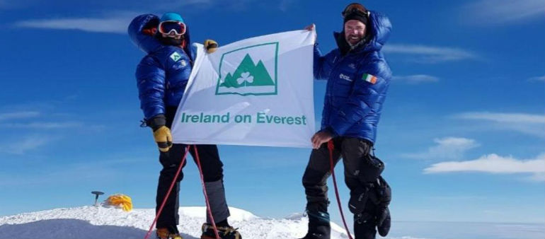 Trinity College professor reported missing on Mount Everest