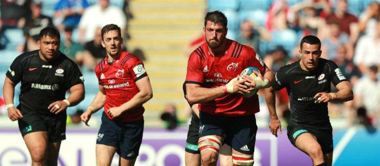Two uncapped players in Ireland training squad for Rugby World Cup
