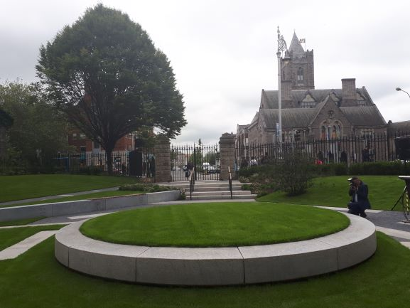 Peace Park re-opens in Dublin 8