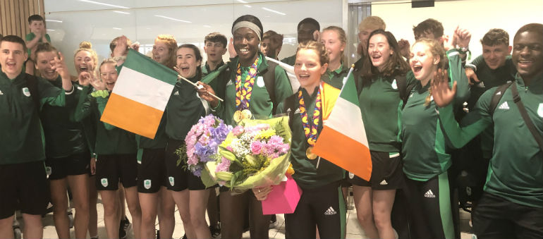 Dublin athletes return home with medals from Baku