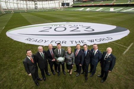 Ireland Steps Up Rugby World Cup Bid