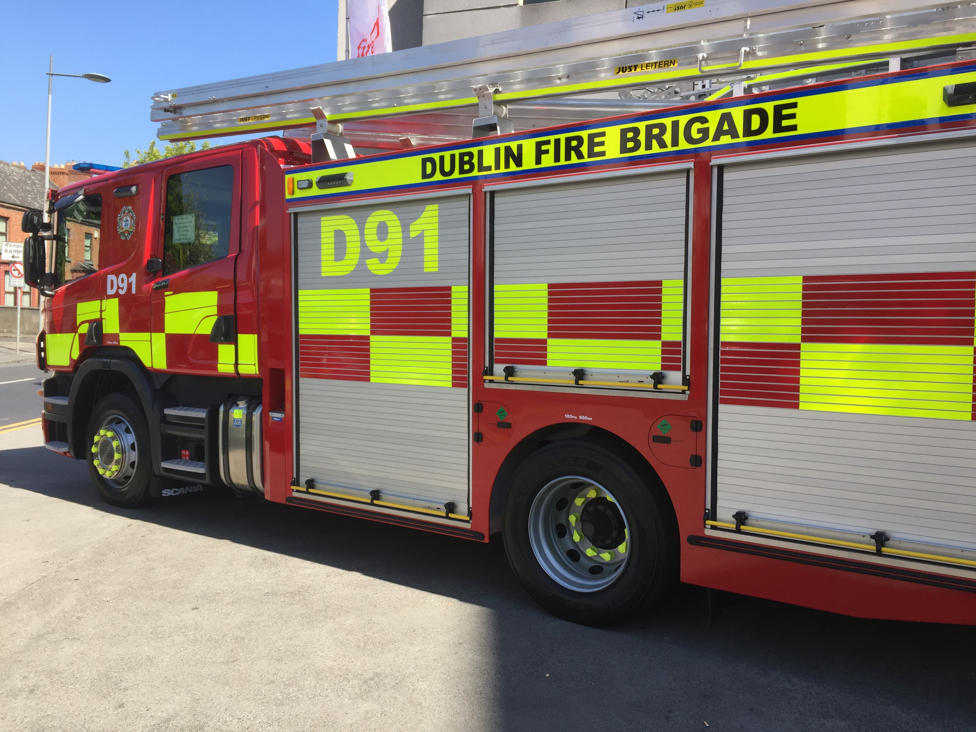 Blaze at house in Ballyboden