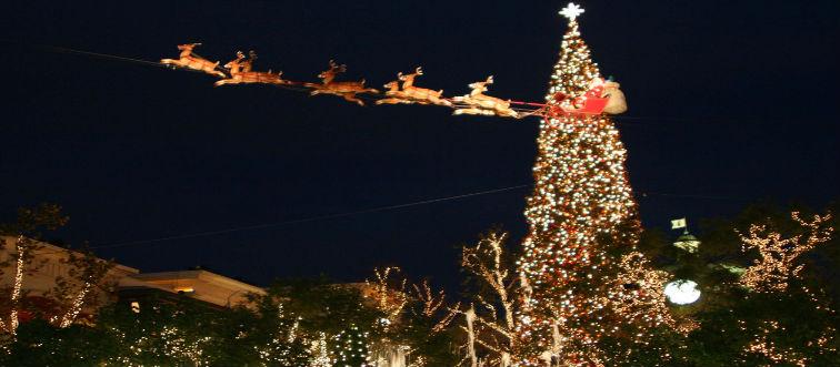 City Prepares For Santa's Arrival