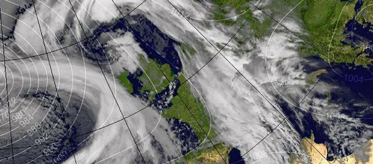 Storm Eleanor Closes In