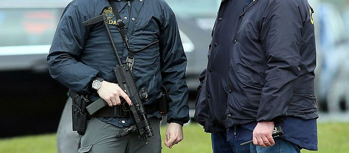 Cut In Armed Gardaí In Dublin