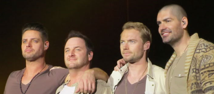 Boyzone Star Hits Bum Note
