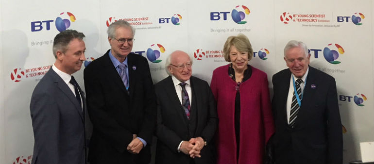 President Launches BTYSTE