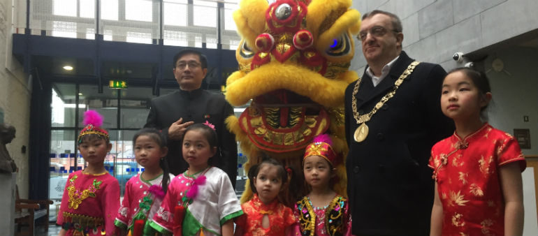 Chinese New Year Launch Festival Celebrations