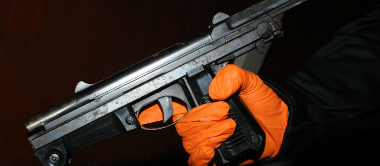 Gun Find Linked To City Feud