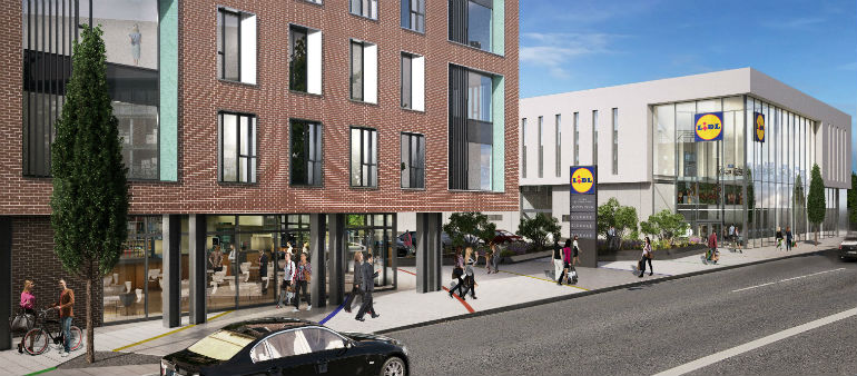 Ballymun Lidl And Student Accommodation Get Green Light