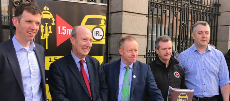 Cyclists call for new laws on passing distances