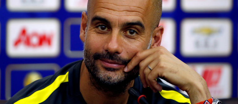 Guardiola Aims For Treble