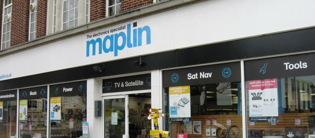 Maplin enters administration