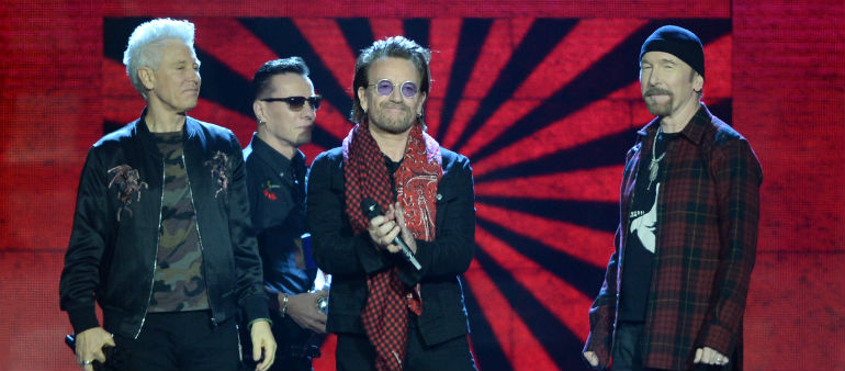 U2 Top Rich List