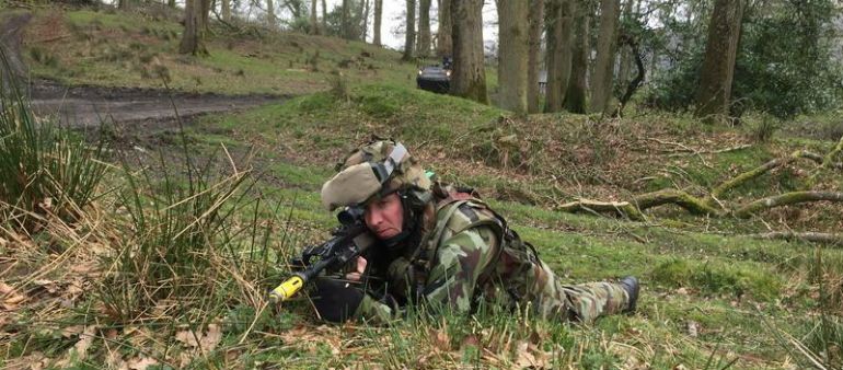 Irish troops undergo intensive training