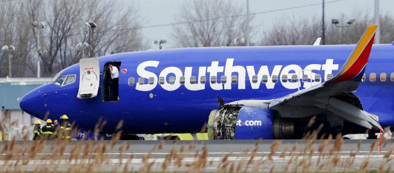 Passenger Dies After Jet Blows Engine