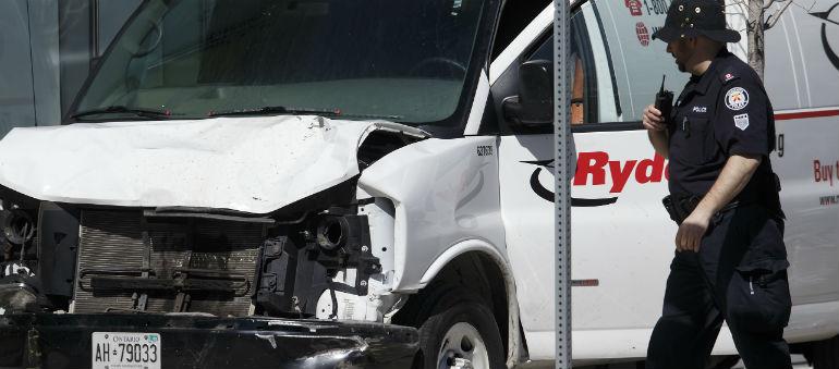 Suspect Held After Toronto Van Attack