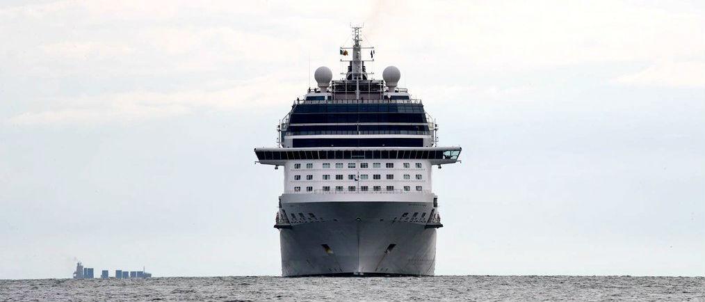 Cruise Ship First To Use Dublin Base