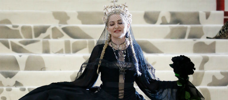 Madonna Stuns At Met Gala