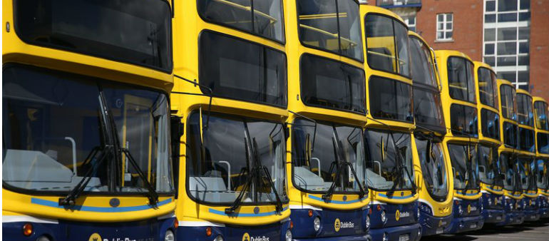 Buses Set For Paint Job