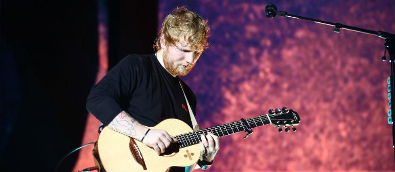 Fans Flock To Sheeran Gig
