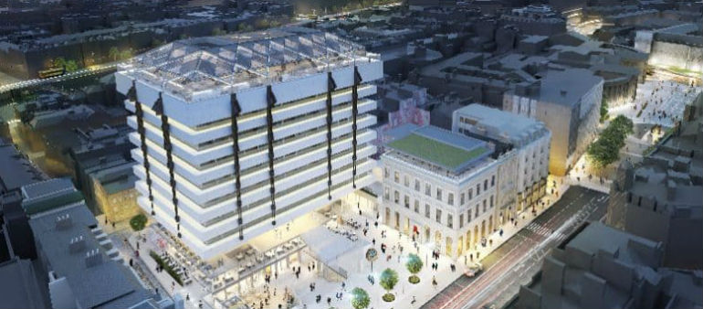 Central Plaza Gets Green Light