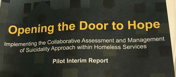 Simon Community launches new report to help prevent suicide among homeless