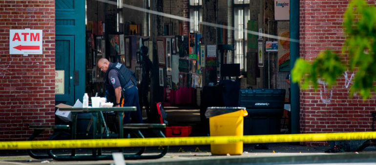 20 shot at New Jersey Arts Festival