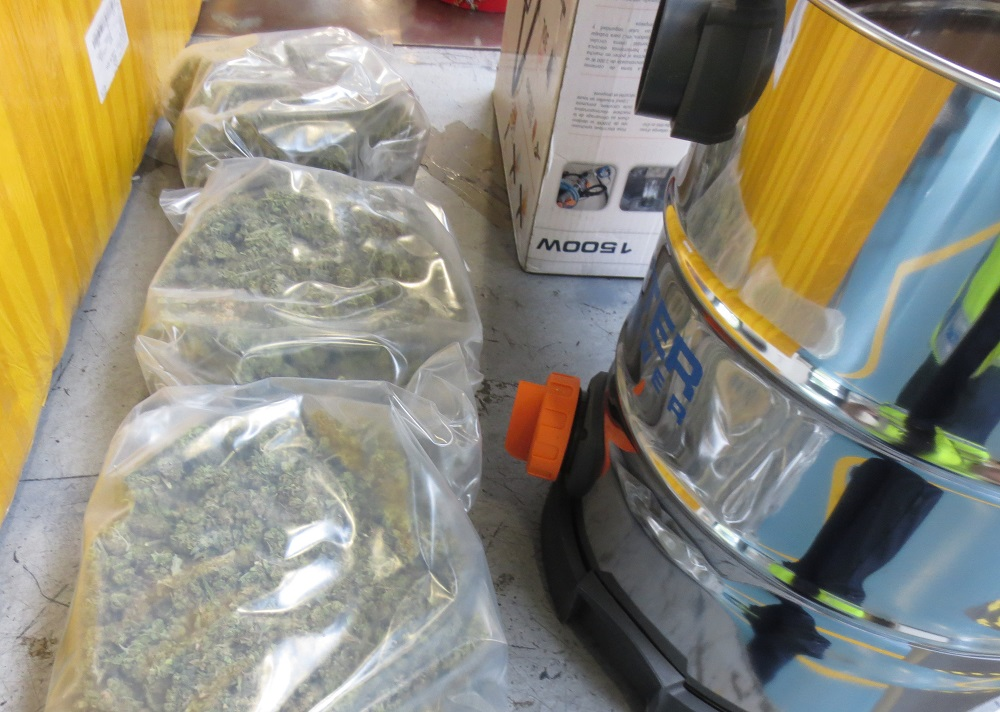 Cannabis found in hoover
